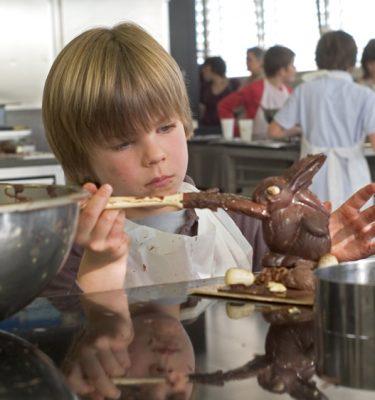 atelier chocolat enfant